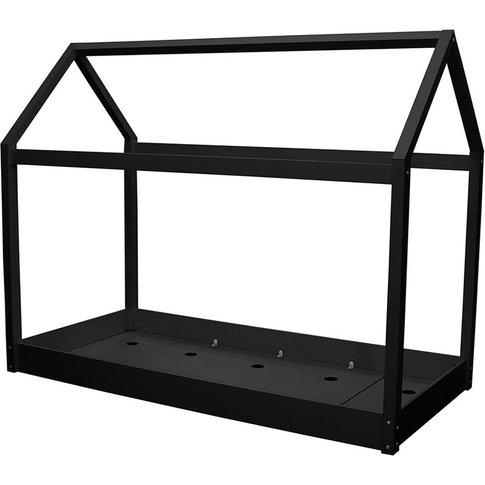Hunter 3.0 Single Bed Black - Netfurniture