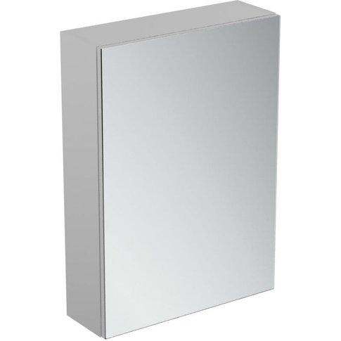 1-Door Mirror Cabinet With Bottom Ambient Light 500m...