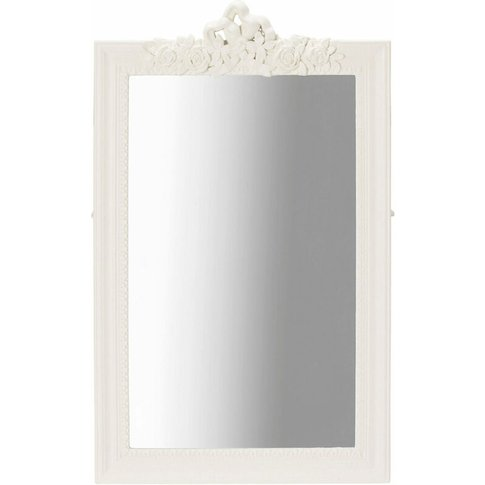 Jewel Wall Mirror White - Netfurniture