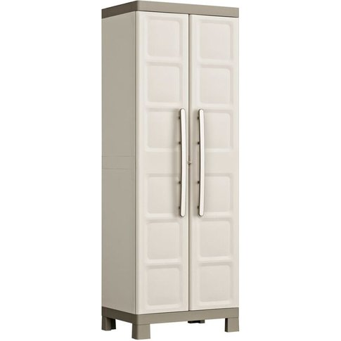 Multipurpose Storage Cabinet Excellence Beige And Ta...