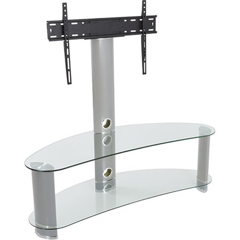 King Premium Upright Cantilever Tv Stand With Bracke...