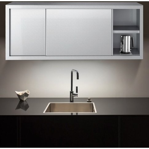 Livingandhome - Catering Kitchen Wall Unit Cupboard ...