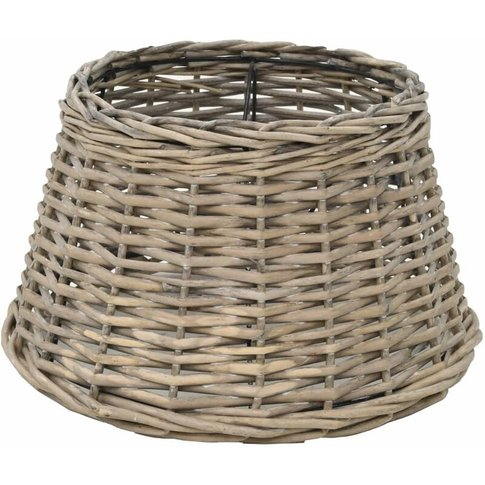 Lamp Shade Wicker 38x23 Cm Natural - Youthup