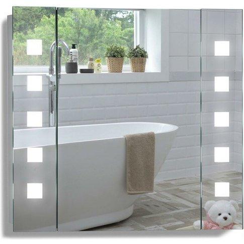 Led Bathroom Mirror Cabinet 60cm(H) X 65cm(W) X 13cm...