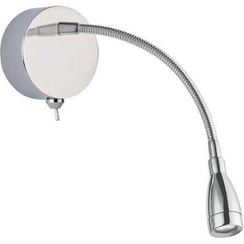 Led Picture Light - Flexi Wall Lamp - Chrome - Searc...