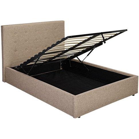 Lerny Plus 4.6 Double Bed Beige - Netfurniture