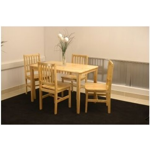 Lima Rubberwood Dining Table Only Large 75 X 81 X 13...