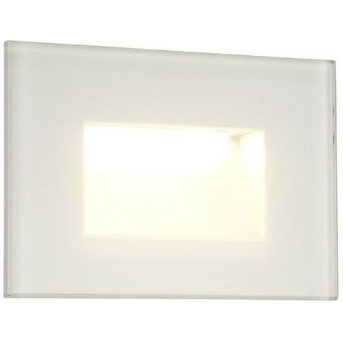 Recessed Rectangle Wall Lamp, 1 X 3.3w Led, 3000k, 1...