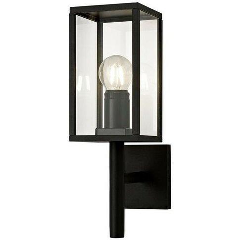 Upward Wall Lamp, 1 X E27, Ip54, Graphite Black - Lu...