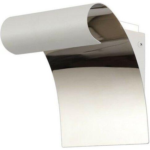 Wall Lamp, 1 X 8w Led, 3000k, 560lm, Sand White, Pol...