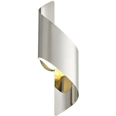 Wall Lamp Small, 1 X 8w Led, 3000k, 640lm, Silver, Polished Chrome - Luminosa Lighting