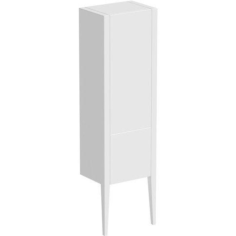 Hale White Gloss Wall Hung Cabinet 1500 X 420mm - Mode