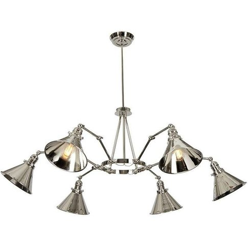 Elstead Provence - 6 Light Multi Arm Ceiling Pendant...