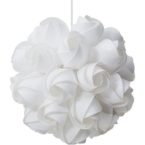 Pendant Lamp White Sordo - Beliani