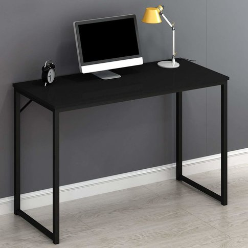Cherry Tree Furniture Modern Compact Desk Table Comp...