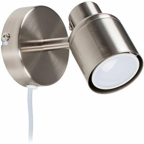 Minisun - Adjustable Ceiling Wall Spotlight With Plu...