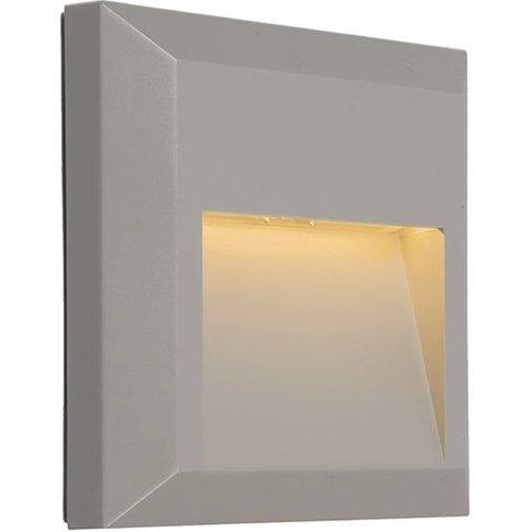 Modern Wall Lamp Light Grey Incl. Led - Gem 2 - Qazqa