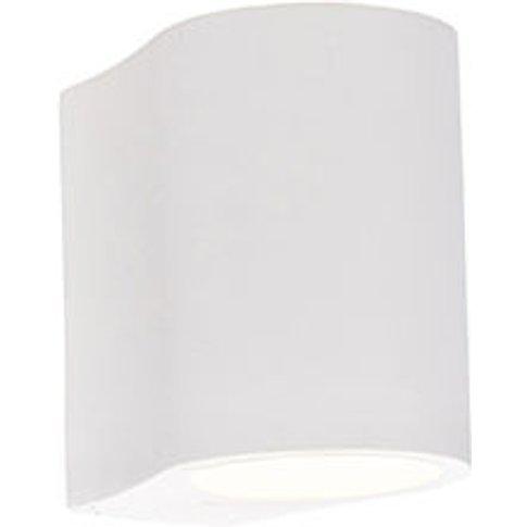 Modern Wall Lamp White - Gypsy Tubo - Qazqa