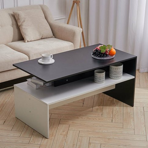 Livingandhome - Mordern Coffee Table Console Desk Or...