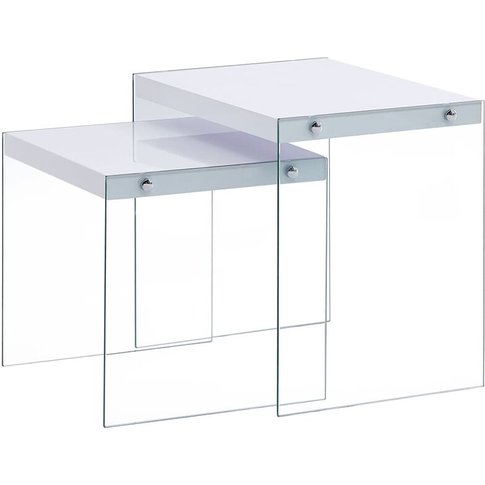 Vidaxl - Nesting Tables 2 Pcs Mdf White