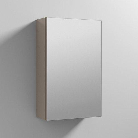 Athena 1-Door Mirrored Bathroom Cabinet 715mm H X 45...