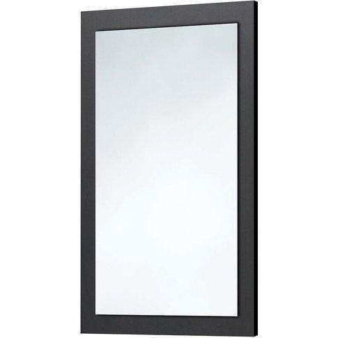 Orbit Wood Frame Bathroom Mirror 900mm H X 600mm W -...