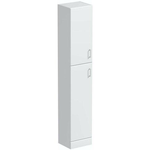 Orchard Eden White Slimline Tall Storage Unit 1900 X...
