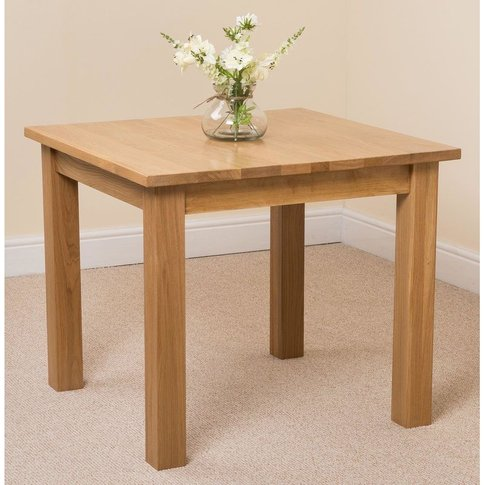 Oslo Solid Oak Dining Table - Modern Furniture Direct