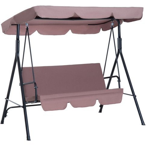 Garden Patio Swing Chair 3 Seater Swinging Hammock C...