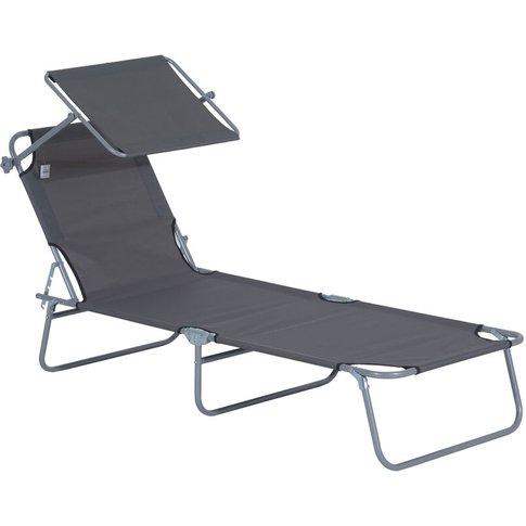 Sun Bed Chairs Garden Lounger Recliner Reclining Fol...