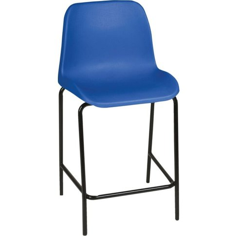 Polypropylene Stool 28' (710mm) Blue - Zoro Select