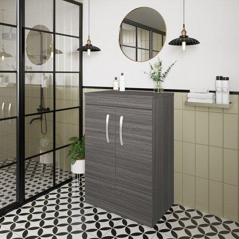 Athena Floor Standing 2-Door Vanity Unit And Worktop...