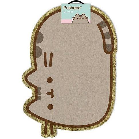 The Cat Door Mat (One Size) (Brown/Yellow) - Pusheen
