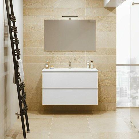 Rak Joy Wall Hung Vanity Unit With Basin 1000mm Wide...