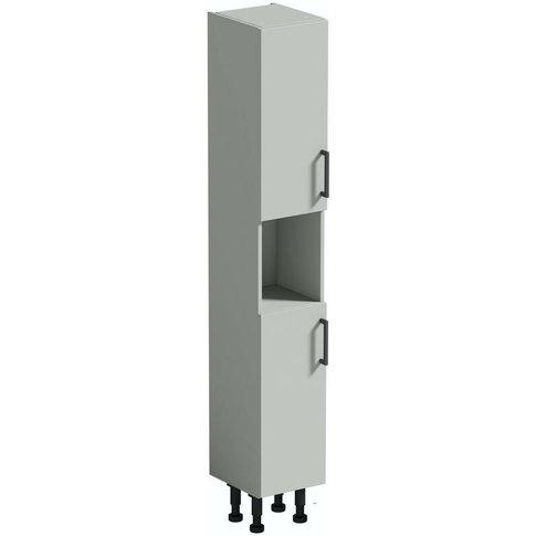 Wyatt Light Grey Tall Storage Unit 1950 X 300mm - Re...