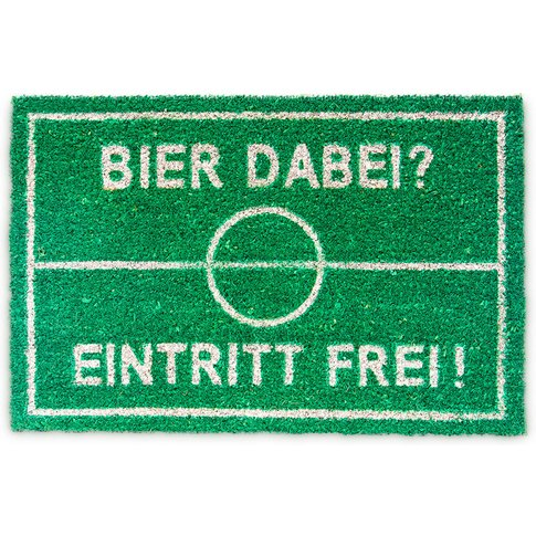 Natural Coconut Fibre Coir Doormat Beer German Welco...