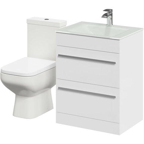 Signature 600mm Vanity Unit & Toilet Suite - Wholesa...