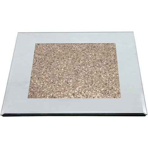 Simple Yet Stylish Design - Diamond Crush Gold Plate...