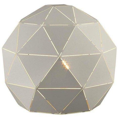 1 Light Table Lamp White, E27 - Spring Lighting