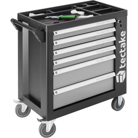 Tectake - Tool Box With Wheels And Tools 1399 Pcs. -...