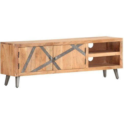 Youthup - Tv Cabinet 120x30x40 Cm Solid Acacia Wood