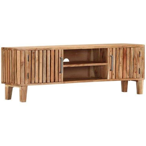 Vidaxl - Tv Cabinet 130x30x45 Cm Solid Acacia Wood