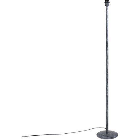 Vintage Floor Lamp Weathered Grey Without Shade - Simplo - Qazqa