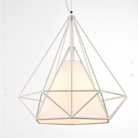 Vintage Hanging Light Retro Pendant Light White Indu...