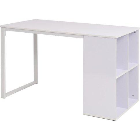Writing Desk 120x60x75 Cm White - Youthup