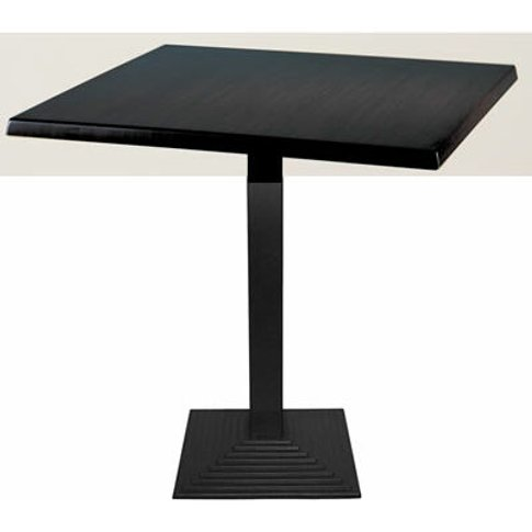 Zamon Square Dining Table With Cast Iron Square Base...