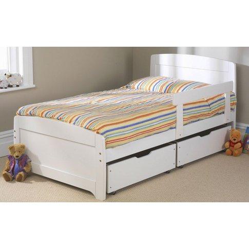 Friendship Mill Wooden Rainbow Kids Bed, Single Shor...