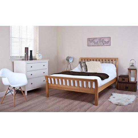 Silentnight Lancaster Oak Bed Frame, Double