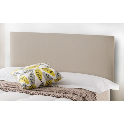 Silentnight Paris Headboard, Double, Slate Grey