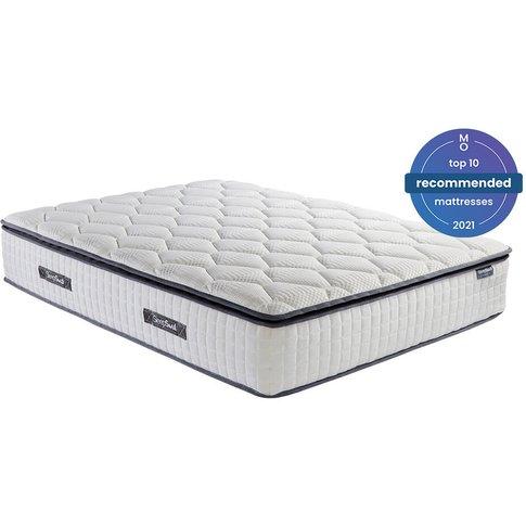 Sleepsoul Bliss 800 Pocket Memory Pillow Top Mattress, King Size